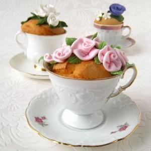 gedecoreerde mugcake